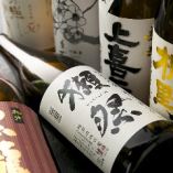 全国から選び抜いた銘酒が約50種揃います