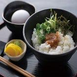 醬油麹の卵かけご飯