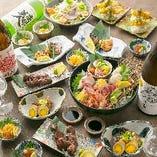 【割引後2,950円(税抜)~】 飲み放題付宴会コースを多数ご用意しています!