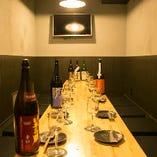 独立性の高い離れ個室は、他のお客様を気にせず盛り上がっていただけます