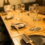テーブル席のグループ宴会は12名様まで