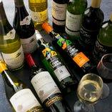 TERUでは和食×ワインの楽しみ方もご提案しています!