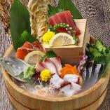 【イチオシ】鮮魚のお造り盛り合わせ