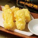 クリームチーズ天麩羅