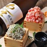 『蟹のこぼれ寿司』&『しらすのこぼれ寿司』