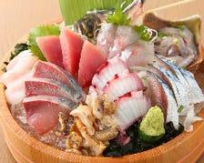 本日のセリ買い鮮魚盛り!!