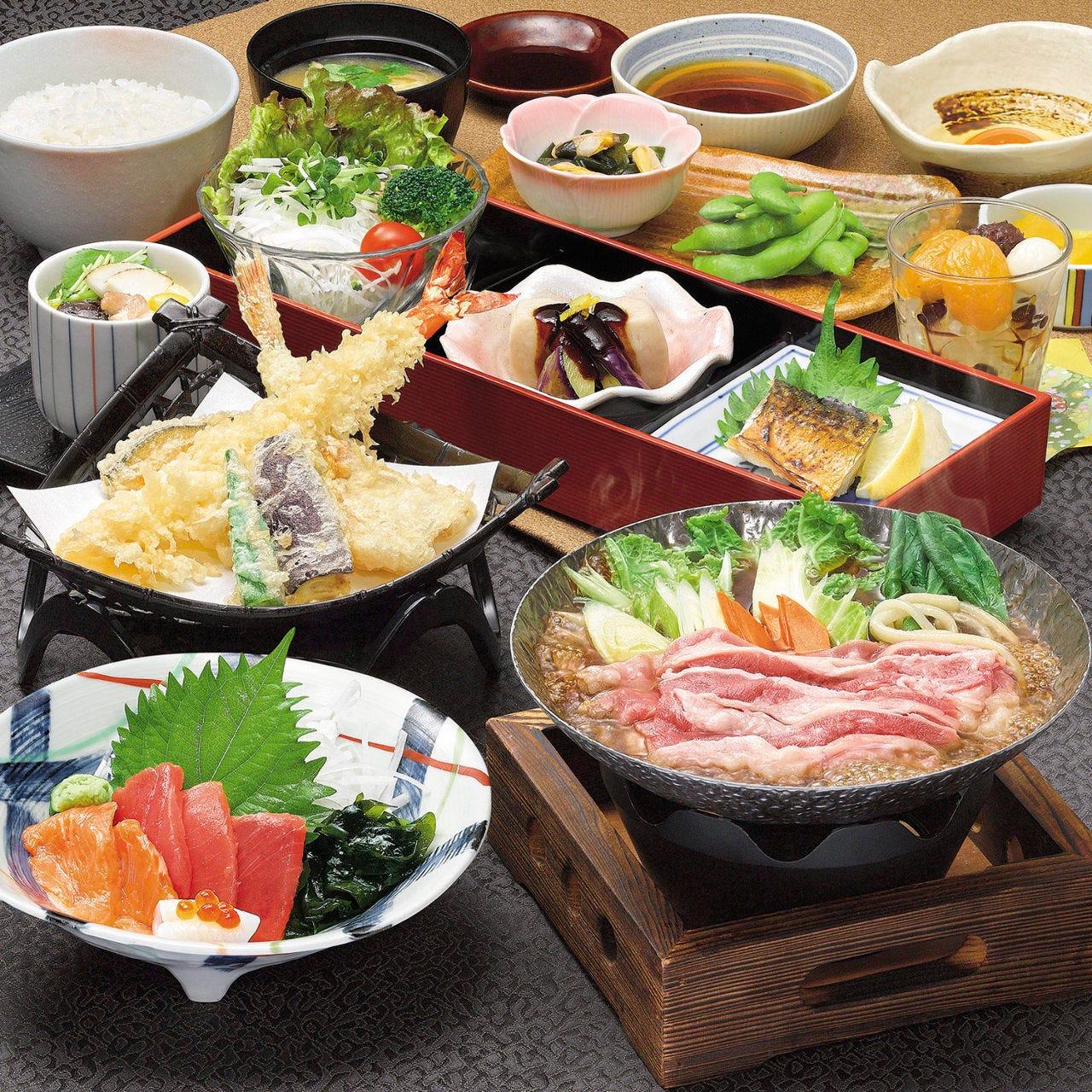 味の民芸自慢の和食料理を存分に味わえるコースは2名様~OK