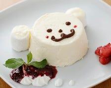 くまさん家のレアチーズケーキ