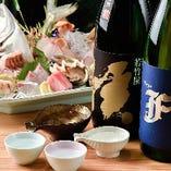 福岡の地酒は 長浜の新鮮な地魚との相性抜群!