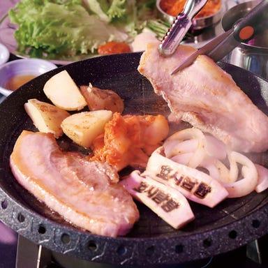 韓国料理 コリアンキッチン ホシタムタム 東岡崎店 メニューの画像