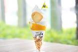 7月限定 完熟マンゴーとココナッツクリームパフェ