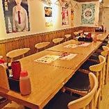1階 テーブル席【20名様まで】