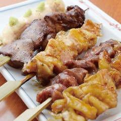 【テイクアウト】おまかせ串盛り5種