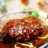 国産牛×黒豚のプレミアムハンバーグ