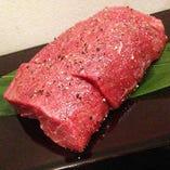 国産牛希少部位の炭焼きステーキ(ネクタイ)