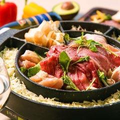 炭焼き塊肉ときどきチーズ 梅田テラス