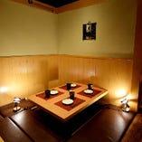 ■個室完備■和の趣きを感じる情緒空間が落ち着いた雰囲気です。