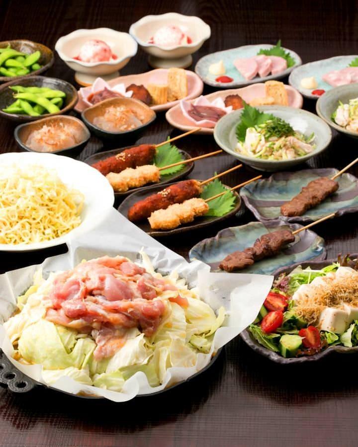鶏ちゃん焼き宴会コース☆