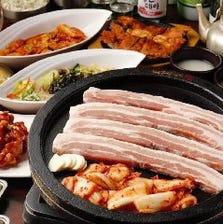 韓国料理食べ放題コースあります♪