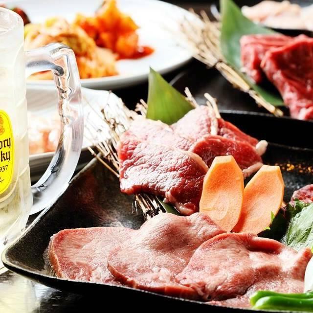【コース】飲み放題&焼肉宴会