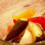 彩り野菜のピクルス!!