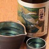 地元明石の地酒『神鷹』丹念な手造りによる大吟醸酒です。