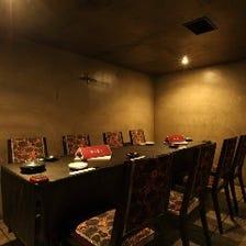 完全個室完備!ご宴会に最適