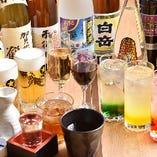 豊富な飲み放題メニュー!ノンアルコールもご用意しております。