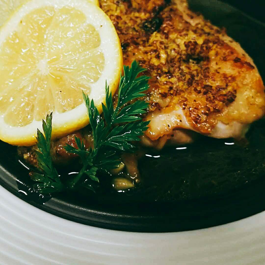 日替わりランチ 鶏のソテーPopoソース