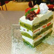 自分へのご褒美☆シェフお手製ケーキ