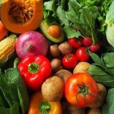 厳選した淡路島産の野菜たち