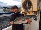 オーナーは釣り好き!新鮮な魚を提供しております!