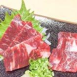 エゾ鹿肉の刺身