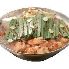もつ鍋(とんこつ味噌 or 旨辛味噌)