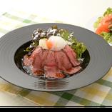 ローストビーフ丼ランチ