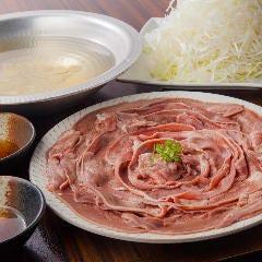 《元祖》豚タンねぎしゃぶ鍋