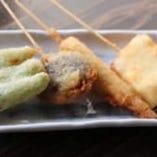 串揚げ 鮮魚で小粋にどうぞ