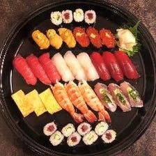 ご自宅で味わえるテイクアウト寿司