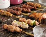 和食と焼鳥の修行したオーナーの つくば茜鶏の焼鳥が自慢です!