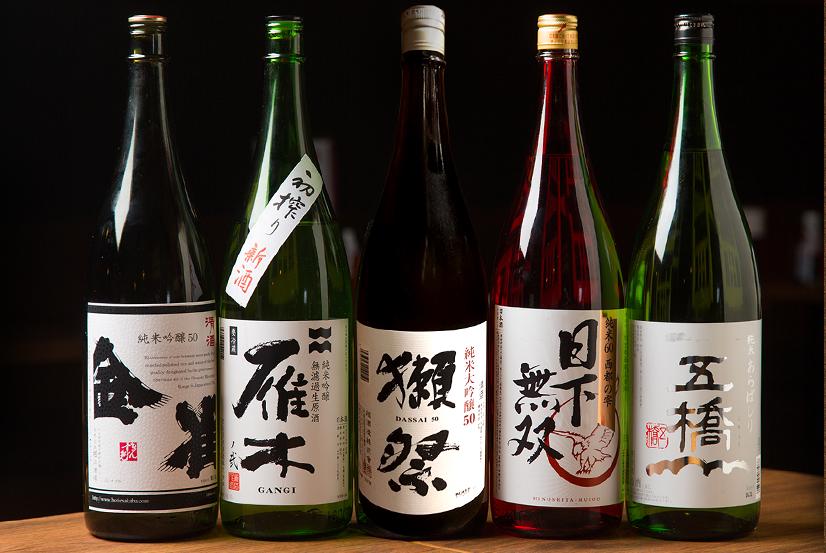 ◆岩国が誇る酒蔵五蔵の銘酒