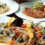 豊洲直送魚介を使った映えるビストロ料理をwineと楽しむ♪