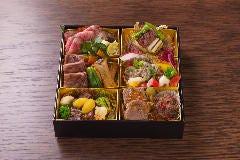 米沢牛会席 洋の玉手箱
