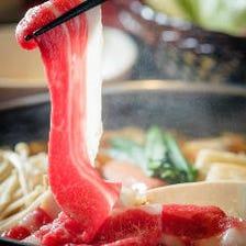 【宴会にオススメ♪】絶品牛肉しゃぶしゃぶ食べ放題コース3時間飲み放題付き3,980円→2,980円