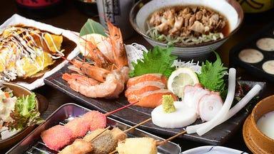 北海炉端&大阪串カツ うまいもん食道 金山店  コースの画像
