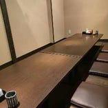 掘りごたつ個室はテーブルを繋げることで最大10名様までOK!