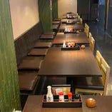 テーブル席:2~40名様