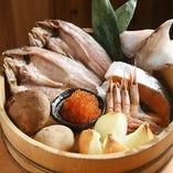 北海道直送の食材を使用!