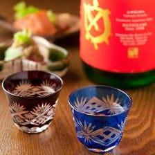 割烹と愉しむ美酒の数々