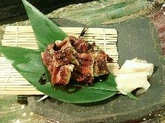 煮穴子の炙り(豊島産)