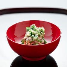 加賀の旬材を美味しく一皿一椀に